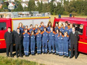 Die Jugendfeuerwehr Esch im Jubiläumsjahr 2009